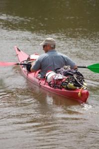 Eric Marion et son kayak