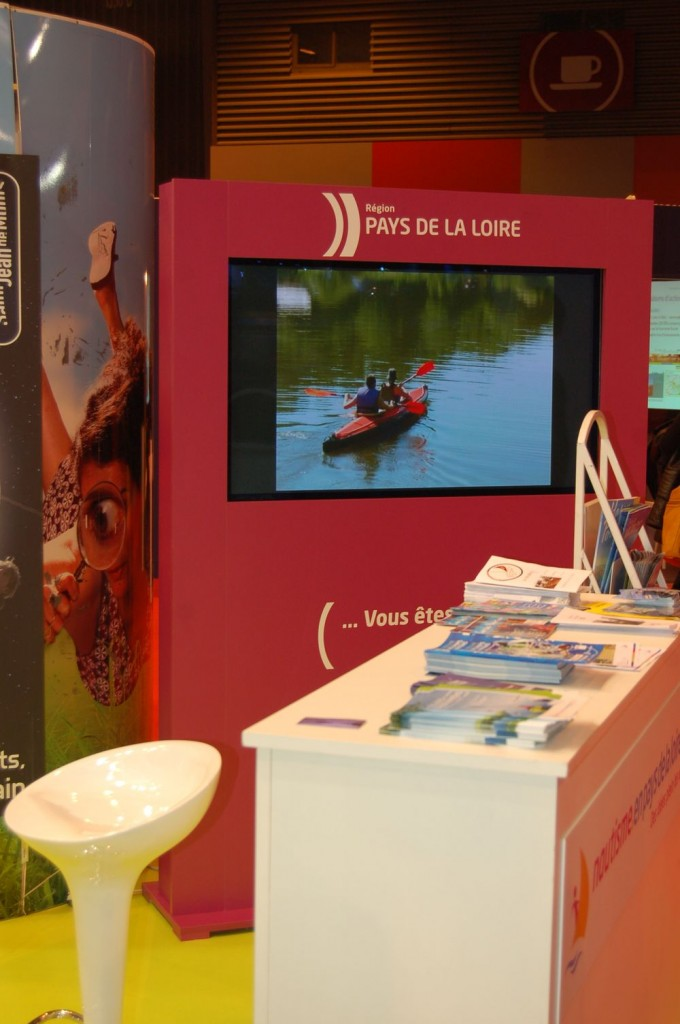le clip video Canotika sur le stand salon nautique paris