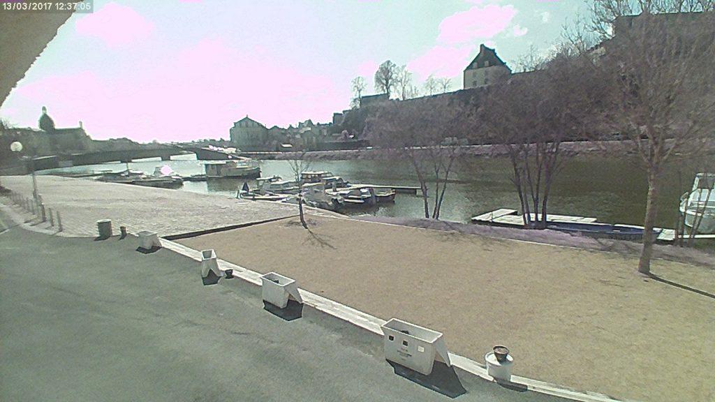 13 mars 2017 Canotika port de plaisance de Château-Gontier webcam