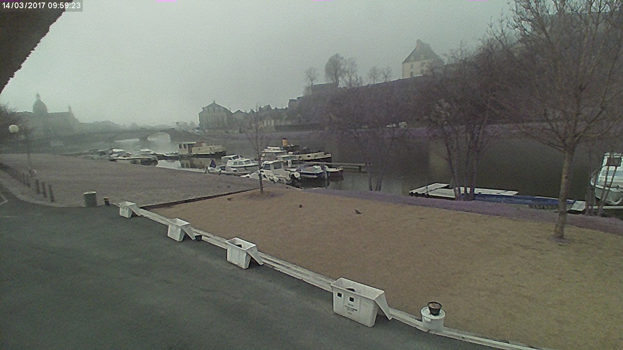 Webcam 14 mars 2017 10h00 Port de plaisance