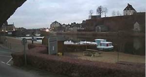 Le 5 mars le premier bateau accoste au port de plaisance