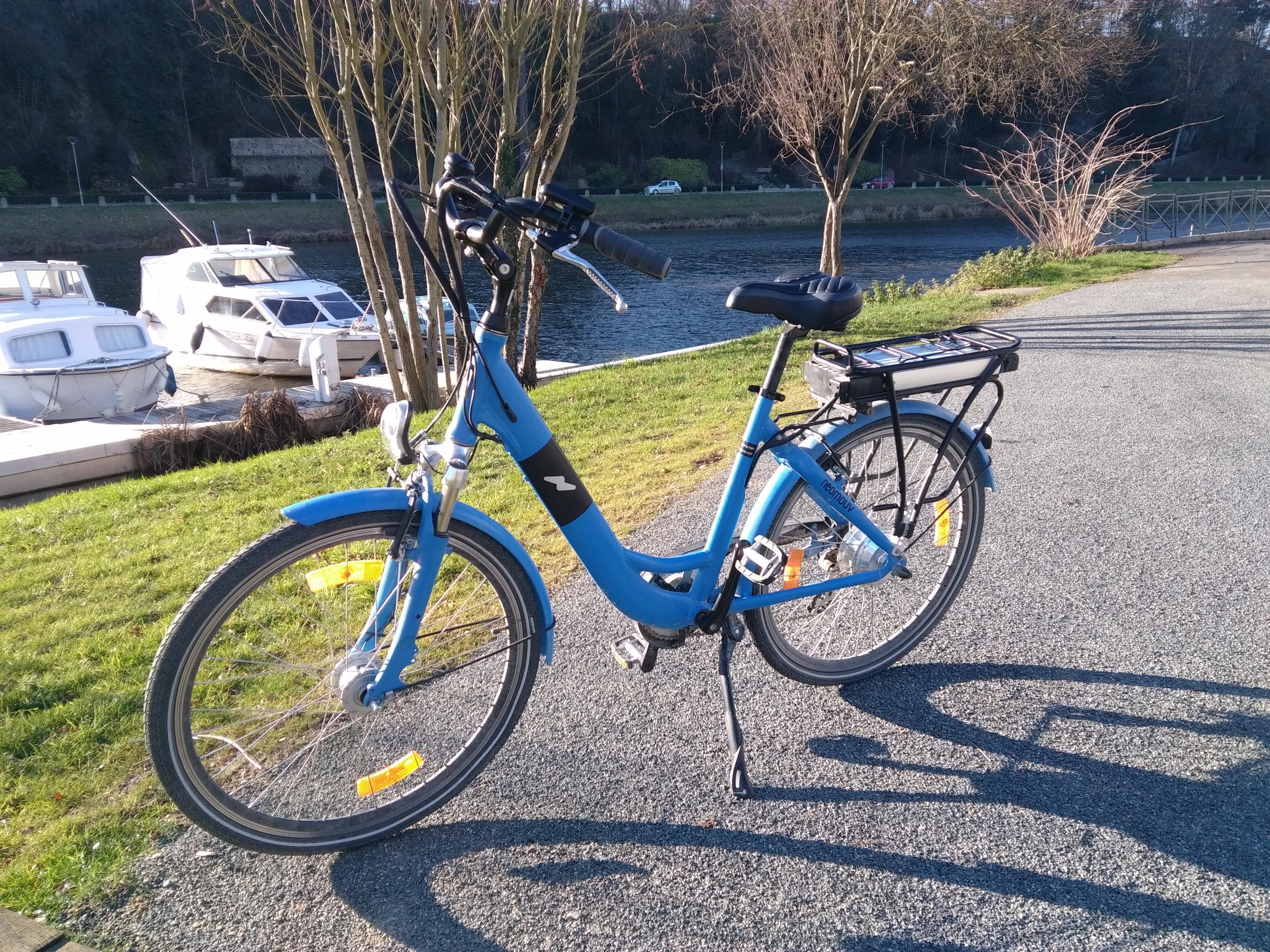 Vélo assistance électrique NEOMOUV