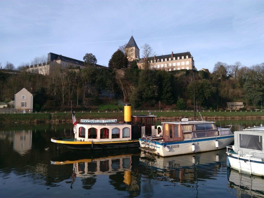 Le Laisser Dire au port de Château-Gontier