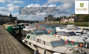 Le port de plaisance de Château-Gontier