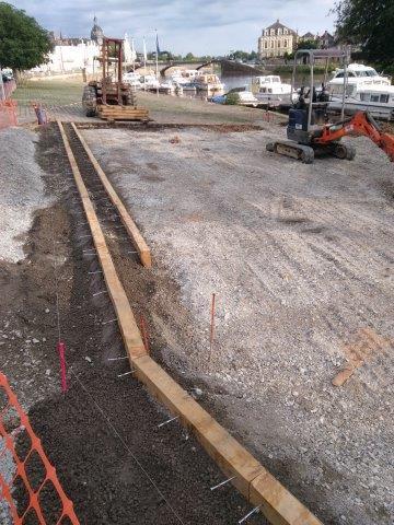 juin 2016 - 8 - travaux aire de pique-nique Canotika