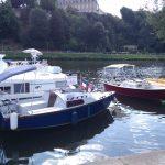 les bateaux à pédaliers de Canotika