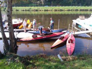 kayaks nautiraid journée test sur la riviere