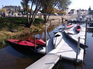 kayaks Nautiraid sur pontons easyfloat
